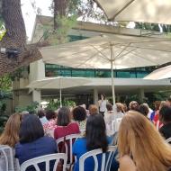 """""""אירוע רישות נשים דיפלומטיות""""- שגרירות קפריסין, 8.10.18"""