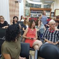 """אסיפה כללית ומפגש נטוורקינג- 26 ביוני 2018 בית קונגרס יהודי בוכארה, ת""""א"""