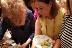 המפגש החברתי החודשי של העמותה עם העיתונאי אנריקה צימרמן 18 באוקטובר 2018