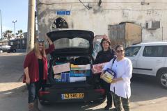 """חברות עמותת """"פני""""ם חדשות""""- תורמות לקהילה, אפריל 2017"""