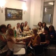 בוגרות קורס דירקטוריות פתח תקווה במפגש חברתי
