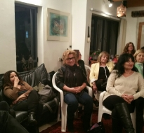 המפגש החברתי החודשי של פרלמנט הנשים