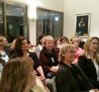 המפגש החברתי החודשי של הפרלמנט- פברואר 2016