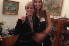 מפגש אוקטובר 2014 בהרצליה עם איריס אלייקים אשת עסקים אמריקאית