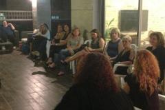מפגש חברתי חודשי של פרלמנט הנשים - הרמת כוסית לשנה החדשה
