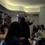 מפגש עם הרב הראשי לישראל דוד לאו ורעייתו ציפי בביתם במודיעין 25.5.14