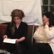 """מפגש חודש ינואר 2015 פרלמנט הנשים מארח בהרצליה פיתוח את השחקנית ליאורה ריבלין ואת הרופאה הכירורגית המנתחת ד""""ר הלן קסטיאל גרין"""