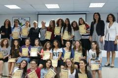 טקס סיום לימודי מדעניות העתיד באולפנת גבעת שמואל